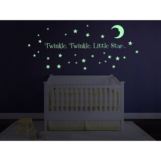Silhouette Vinyl Glow in the Dark 22 x 120 cm
