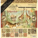 Graphic 45, Safari Adventure Papierset 30,5x30,5cm