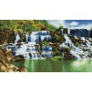 DIAMOND DOTZ Pongour Waterfall 101x57 cm