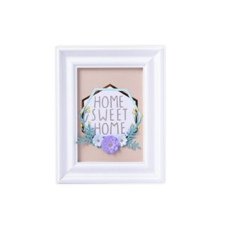 Sizzix Thinlits Die Set 6PK - Botanical Frame by Jen Long