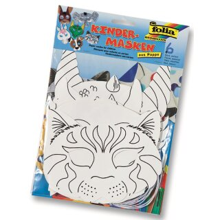 Glorex Kindermasken in 6 Motiven
