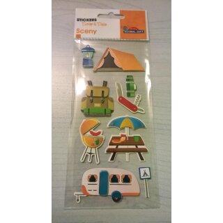 sticker wandern camping aufkleber chf. Black Bedroom Furniture Sets. Home Design Ideas